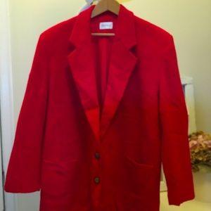 2for $30 Vintage wool/nylon/cashmere coat size 16